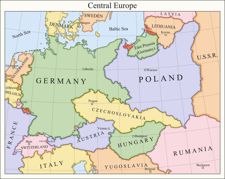 a geography of poland in central europe Here are the maps of the different countries found in eastern europe how are all of these countries geographically different.