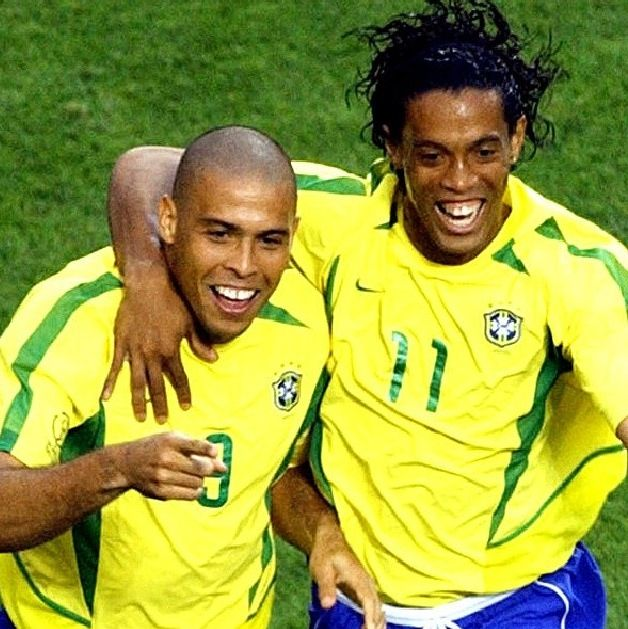 Brazil national football team Ronaldo and Ronaldinho