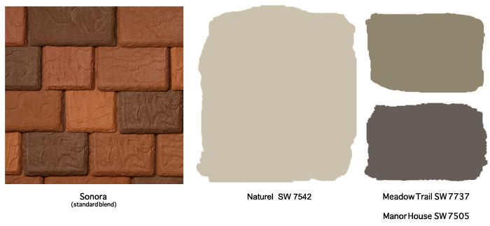 Davinci Sonora And Southwestern Colors From Sherwin Williams Paint Colors Pinterest