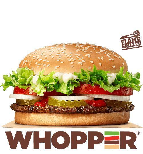 BURGER KING® Four Cheese, Ultimate Bacon, Whopper