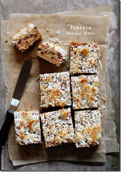 ... Recipes Round Up - Good Recipes Online pumpkin spice 7 layer bars