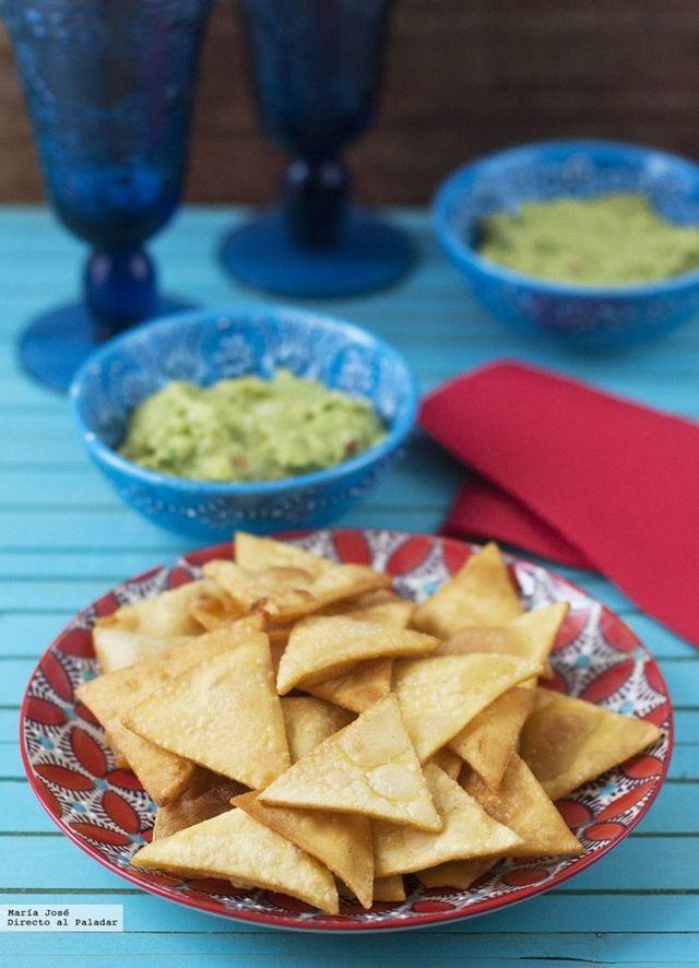 ... nachos caseros. Receta mexicana (Directo Al Paladar) | Nachos and Blog