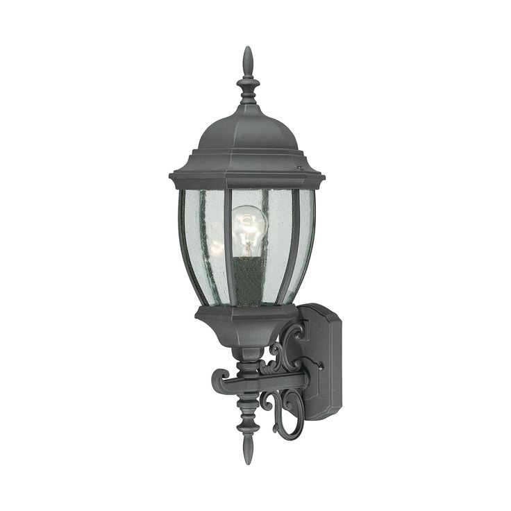 Thomas Lighting SL92277 Covington Collection Black Finish Traditional Wall Sconce