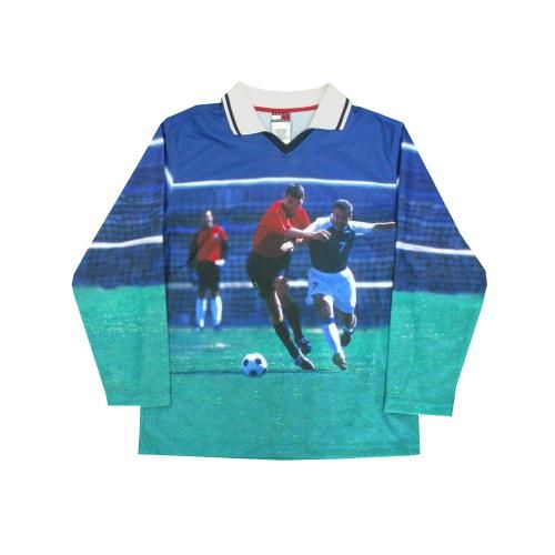 VINTAGE TOMMY HILFIGER SOCCER SHIRT ( トミーヒルフィガー サッカーシャツ)