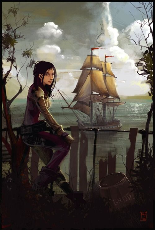 Thar is no reason a lady can't be a pirate, in fact be weary o' a lass who claims she isn't dangerous!