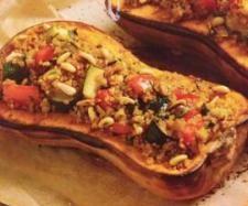Quinoa stuffed Pumpkin Halves | Thermomix