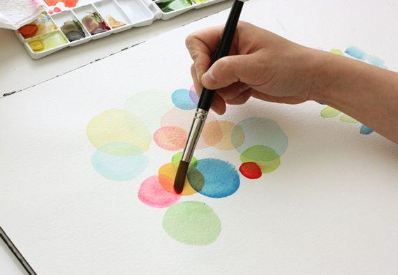 The Alison Show: Watercolor tutorial pt. 1: BASICS & SUPPLIES