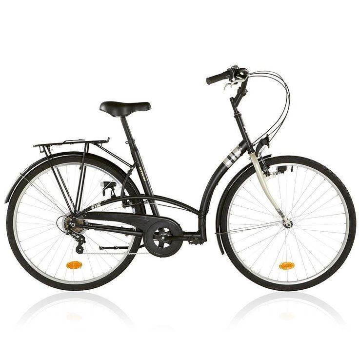 Vélos Ville - Vélo ville Elops 3 noir