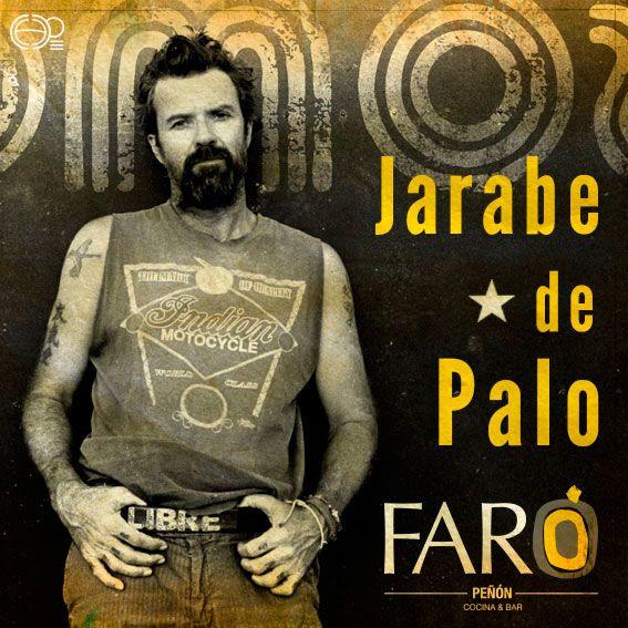 Gráfica concurso para ganarse una boleta para el concierto de #jarabedepalo en las redes sociales, del restaurante Faro Peñon en Cali-Colombia #restaurantes #poster #posterdesign