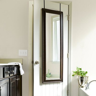 See the full picture with this full length mirror. Whether you mount it or lean it against the wall, this bronze mirror is a beautiful addition to your decor. Get this Online deal At Kirkland's. #mirror #wallMirror #couponndealus #floormirror #bathroommirrors