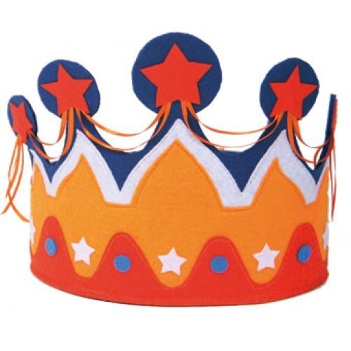 kroon #Koningsdag #oranje #knutselen