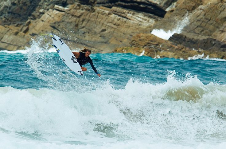 Staff photographer Andrew Shield takes us into the blue waters of the mid-north coast of NSW, with some of Australia's best up-and-comers. Letty Mortensen.