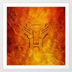 Transformers Art Print