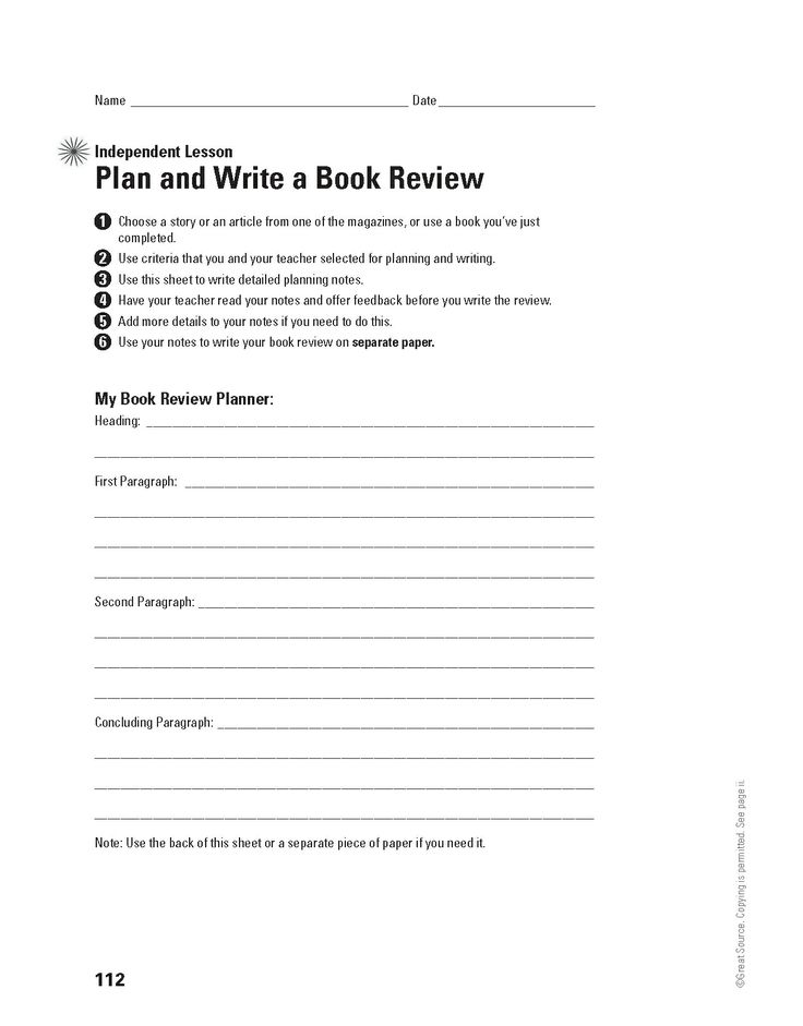 write a book review online