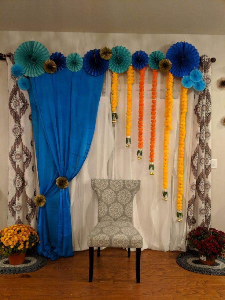 Seemantham Decoration Indian Baby Shower Decorations Indian