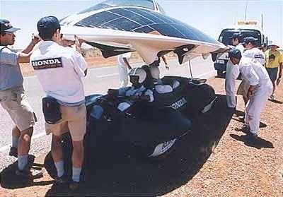 HONDA COMPANY SOLAR RACING CAR JAPAN