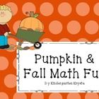 fall math centers games ten frames, roll and cover, coll and color, spinner games, counting,