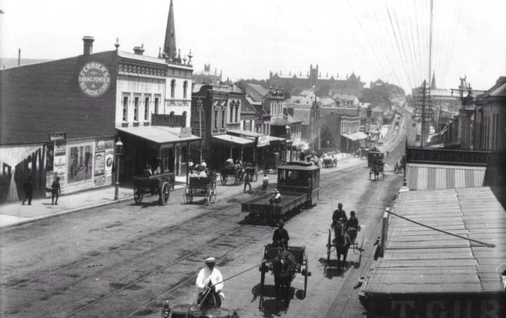Broadway heading towards University of Sydney, c. 1890