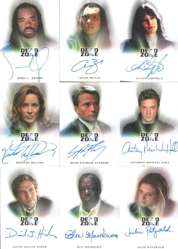 The Dead Zone Trading Cards   Fringe Seasons 1 & 2 Rare Autograph A14 Jeff Pinker Producer Auto ...