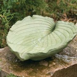 See how to make this leaf-shaped bath.