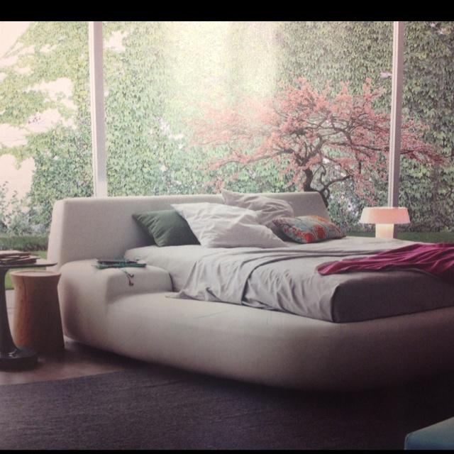 Plush platform bed unique beds pinterest platform for Unique platform beds