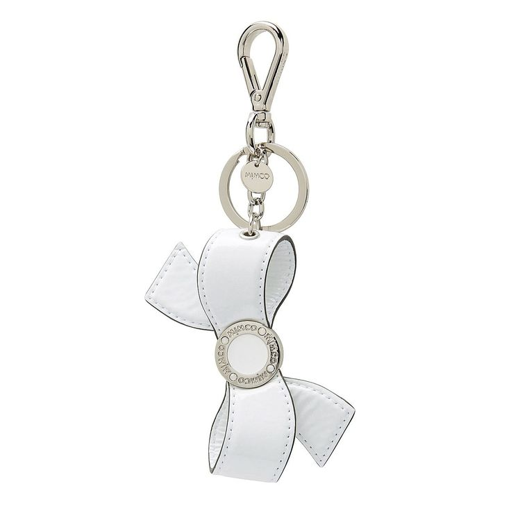 Mim Bow Key Ring - hang off your favourite Mimco bag for a touch of quirk and charm