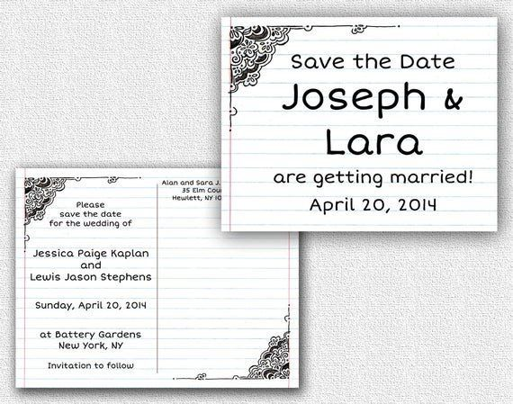 Two Sided Postcard Template Lovely Double Sided Save The Date Postcard Template By Postcard Template Booklet Template Save The Date Postcards
