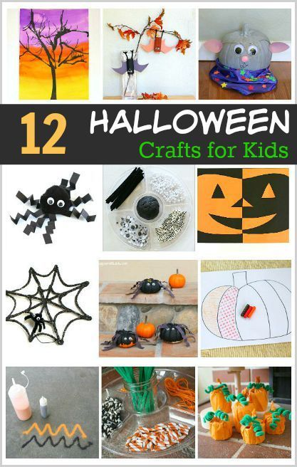 12 awesome halloween crafts and art projects for kids - Preschool Halloween Art Projects