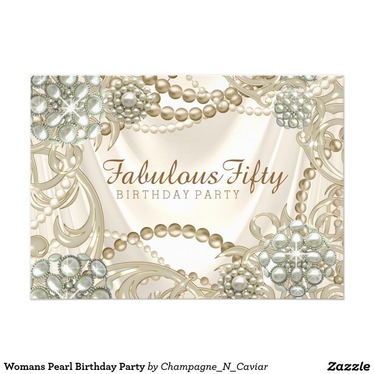 245 best Womans Birthday Party Invitations images on Pinterest ...