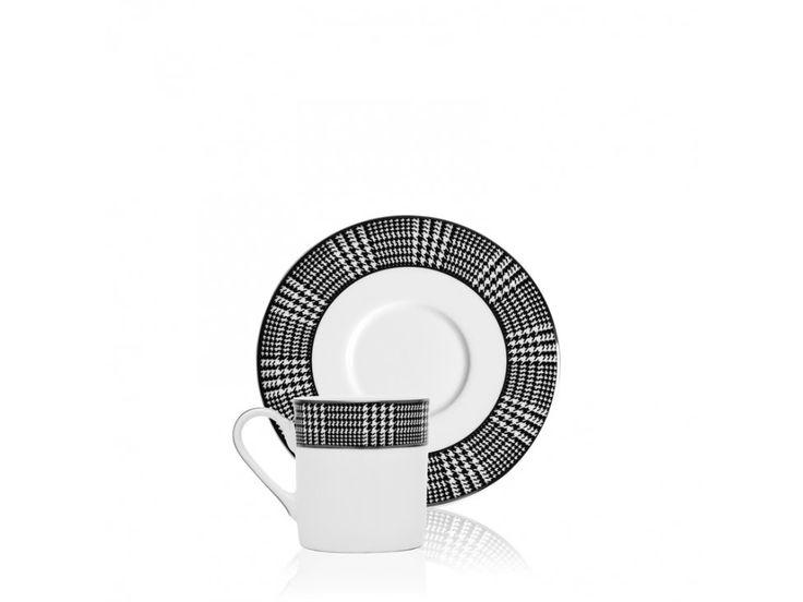 Zestaw do Espresso Bergdorf (4/Set) — Filiżanki Eichholtz® — sfmeble.pl
