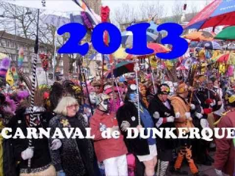 ▶ CARNAVAL DUNKERQUE 2013 - YouTube