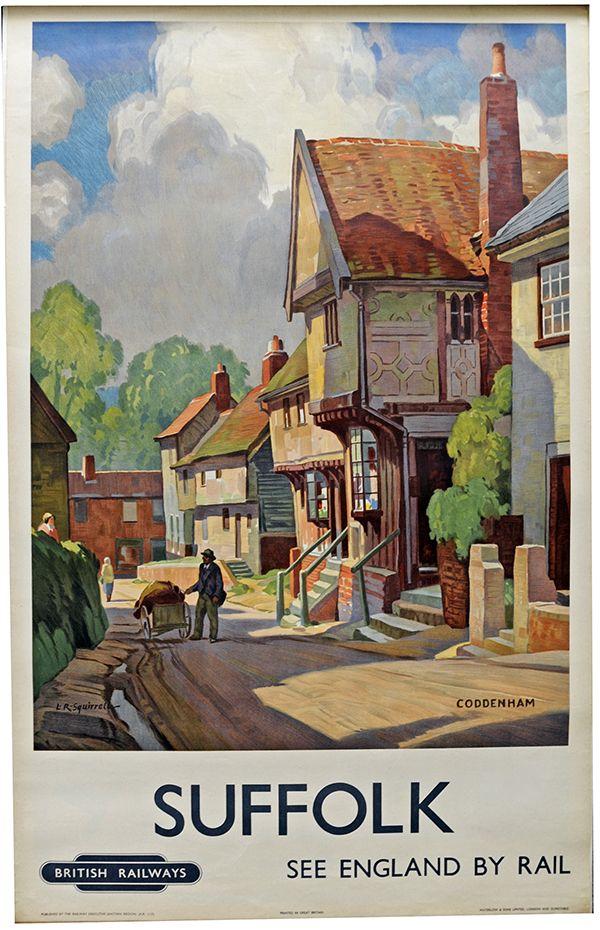 Suffolk Rail poster by Coddenham http://www.MemoryMakerTravelResource.com