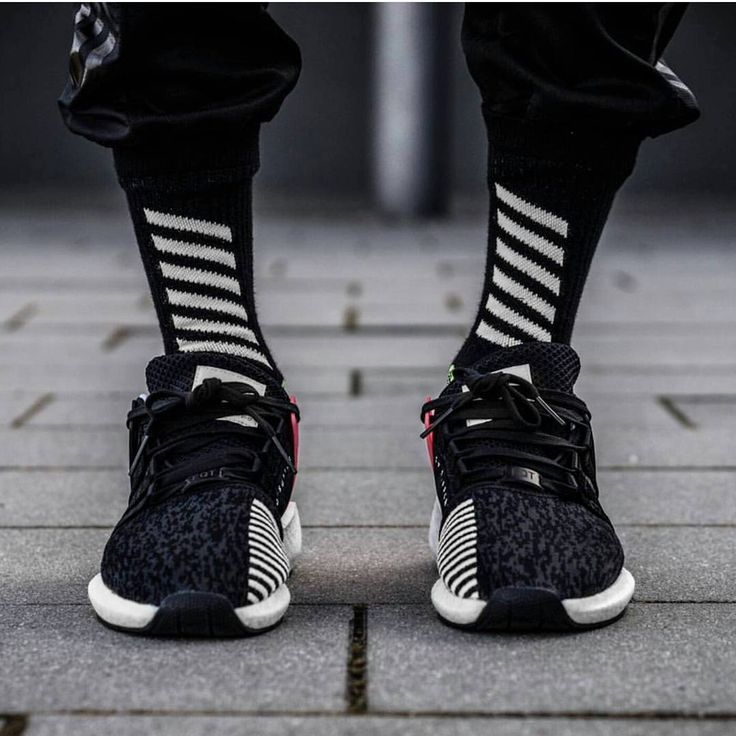 """The past it's the future Do you like the EQTs?"