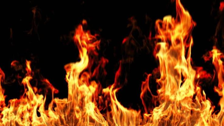 Realistic Fire With Alpha, HD, Loopable, Easy Integration Into Video. Stock Footage Video 1267066 - Shutterstock