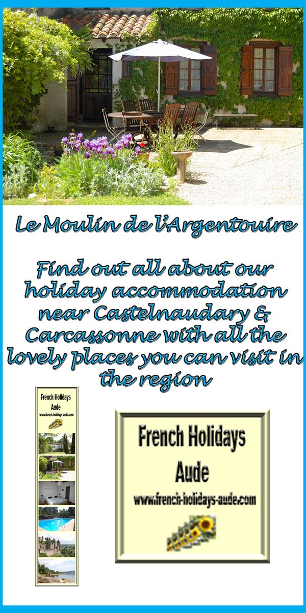 This is our holiday accommodation in the South of France near to Castelnaudary, the Canal Du Midi and Carcassonne.  Boards include images of our holiday accommodation, our location and French themed graphic designs and or products.