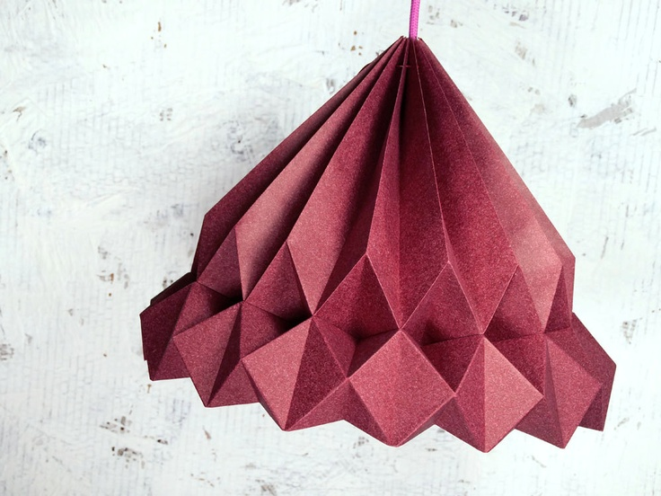MISS DIGBY origami lampshade pendant—werkdepot