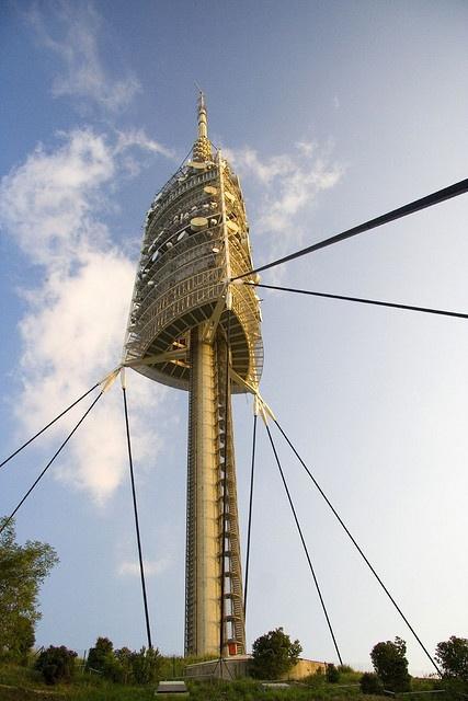 La Torre de Collserola  Comunicaciones   Barcelona