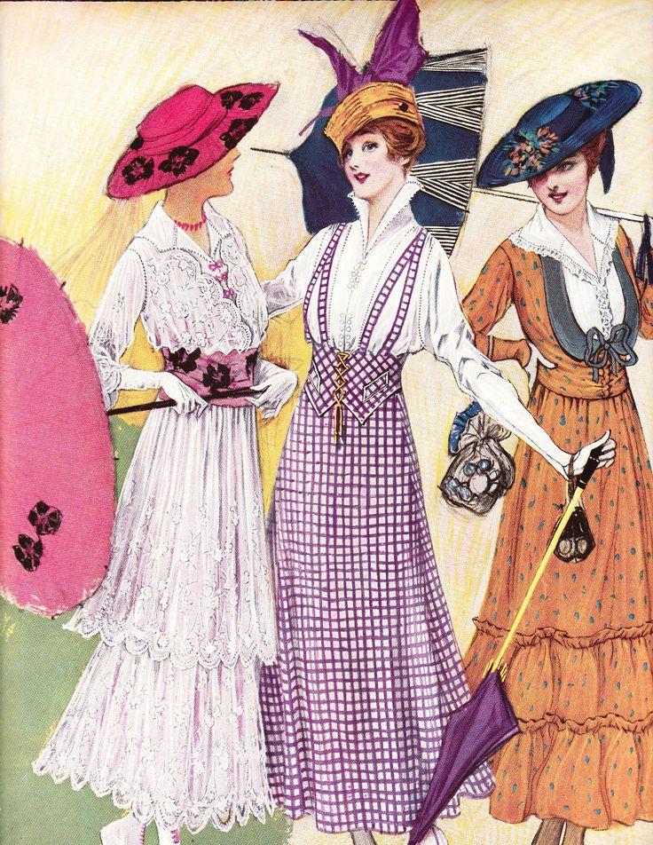 1920' fashion print