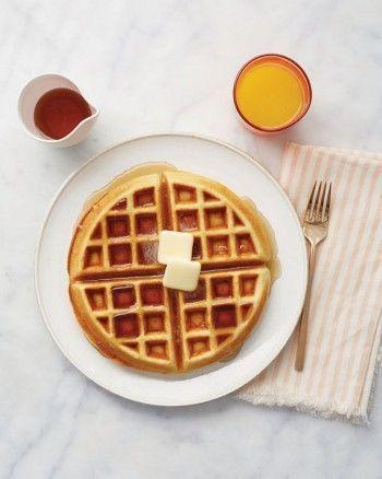 Easy Waffles Recipe & Video | Martha Stewart