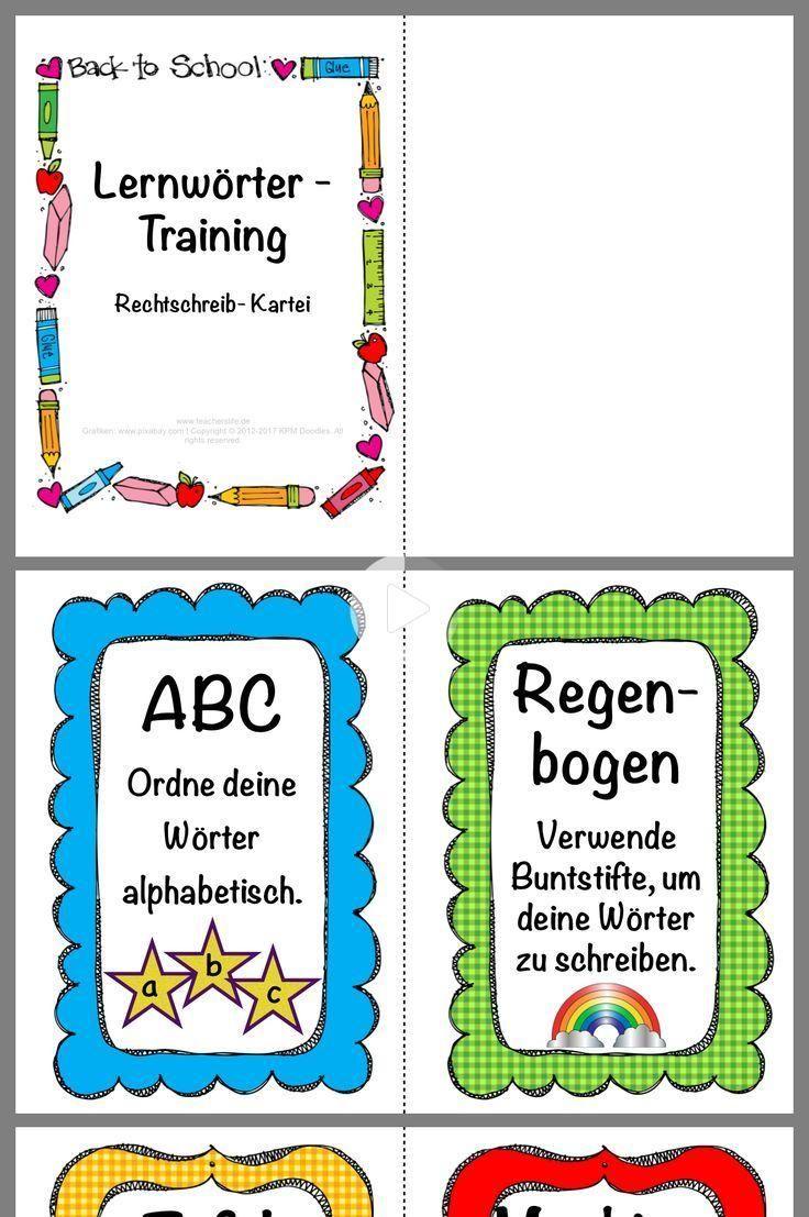 Lernwörter/Grundwortschatz Mappe   Das verfuchste Klassenzimmer ...