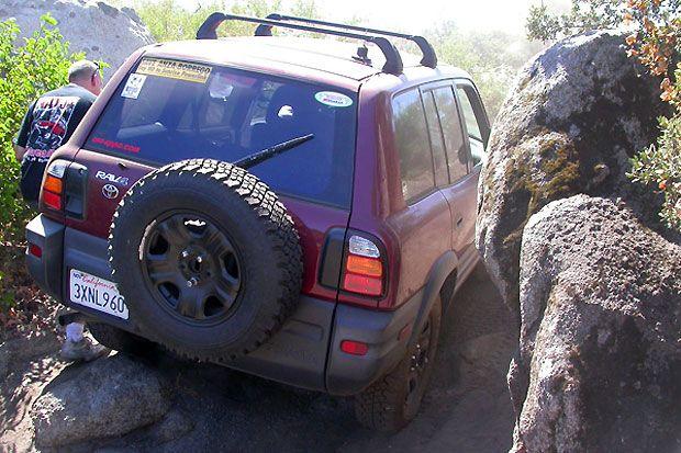 Rav4 Narrow Spot Aggressive Tires 1st Gen Rav4 Mods