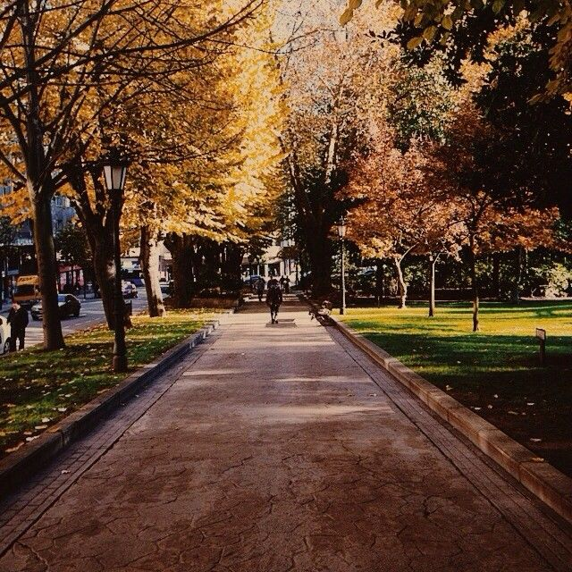 """Parque de San Francisco in Oviedo, Spain. @manutd's Juan Mata: """"This park in Oviedo is a great place to relax."""""""