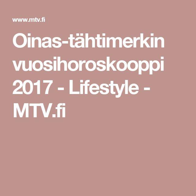 Oinas-tähtimerkin vuosihoroskooppi 2017 - Lifestyle - MTV.fi
