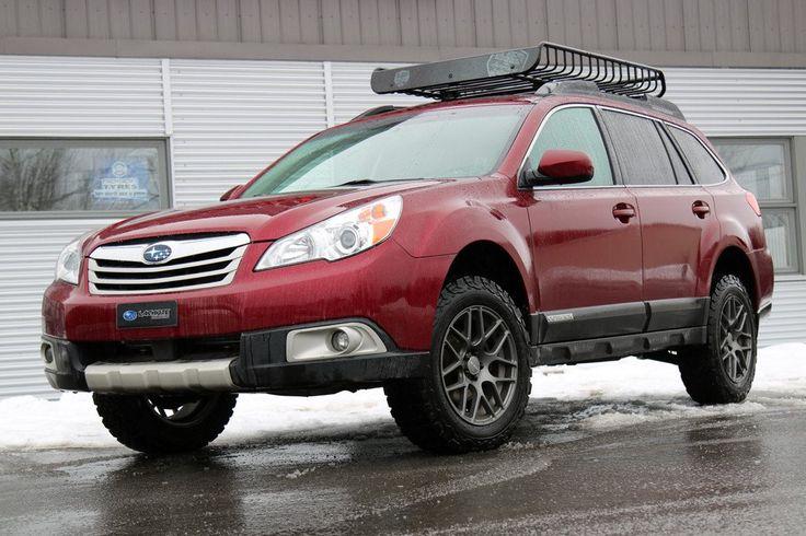 Make: Subaru Model: Outback 2.5iYear: 2011 Color: Red Modifications: Tires: 225/65R17 BFGoodrich All Terrain T/A KO2 Wheels: RTX ENVY 17