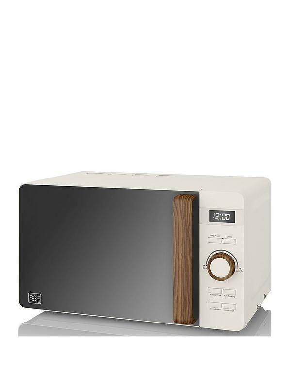 20l nordic digital microwave white