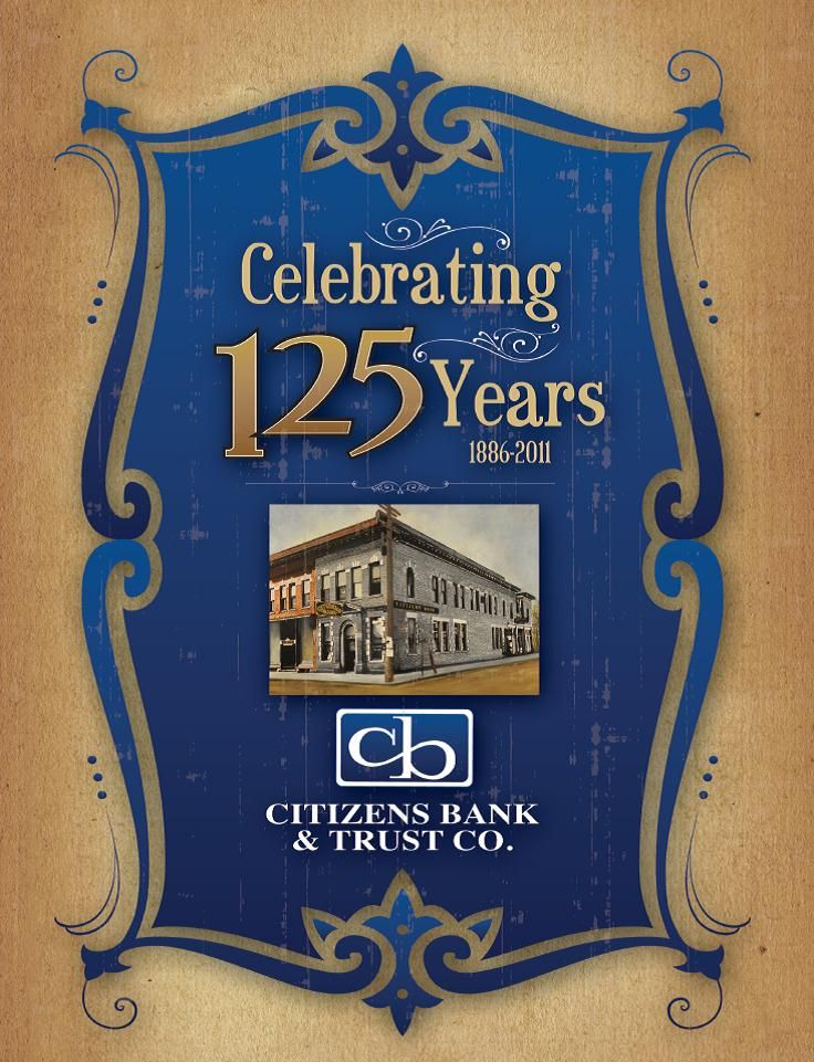 Citizens Bank Anniversary Book