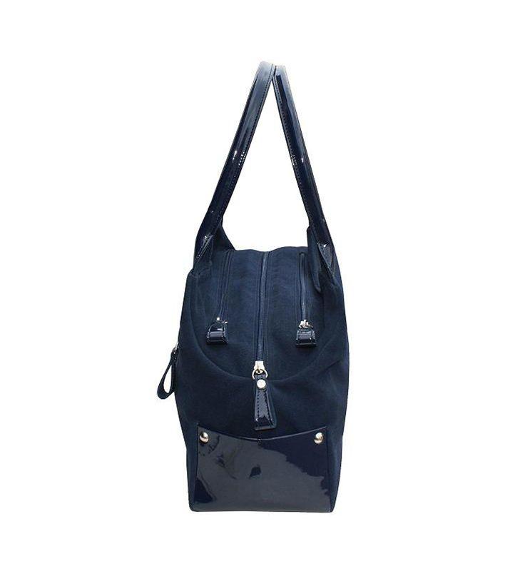 FashionSupreme - Geantă în albastru-închis cu logo de brand Madison - Accesorii - Genţi - Bosccolo - genți elegante doar pentru tine. Haine şi accesorii de marcă. Haine de designer.