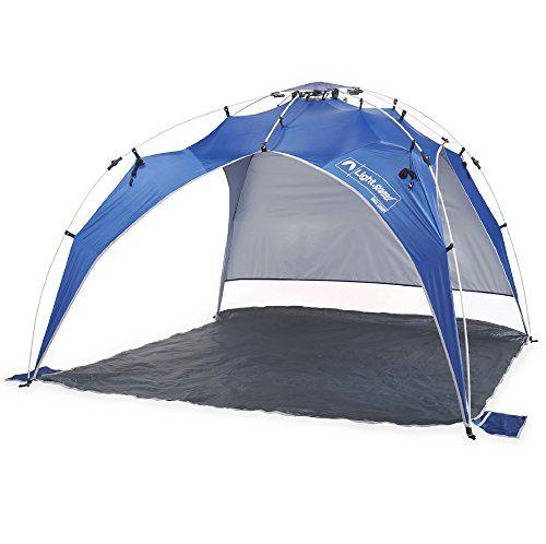 Lightspeed Outdoors Quick Beach Canopy Tent, Blue >> READ ADDIITONAL INFO @: http://www.best-outdoorgear.com/lightspeed-outdoors-quick-beach-canopy-tent-blue/
