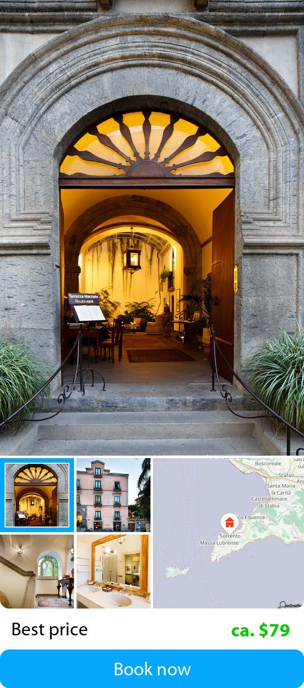 Palazzo Marziale (Sorrent, Italy) – Book this hotel at the cheapest price on sefibo.