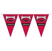 NCAA Arkansas Razorbacks Party Pennant